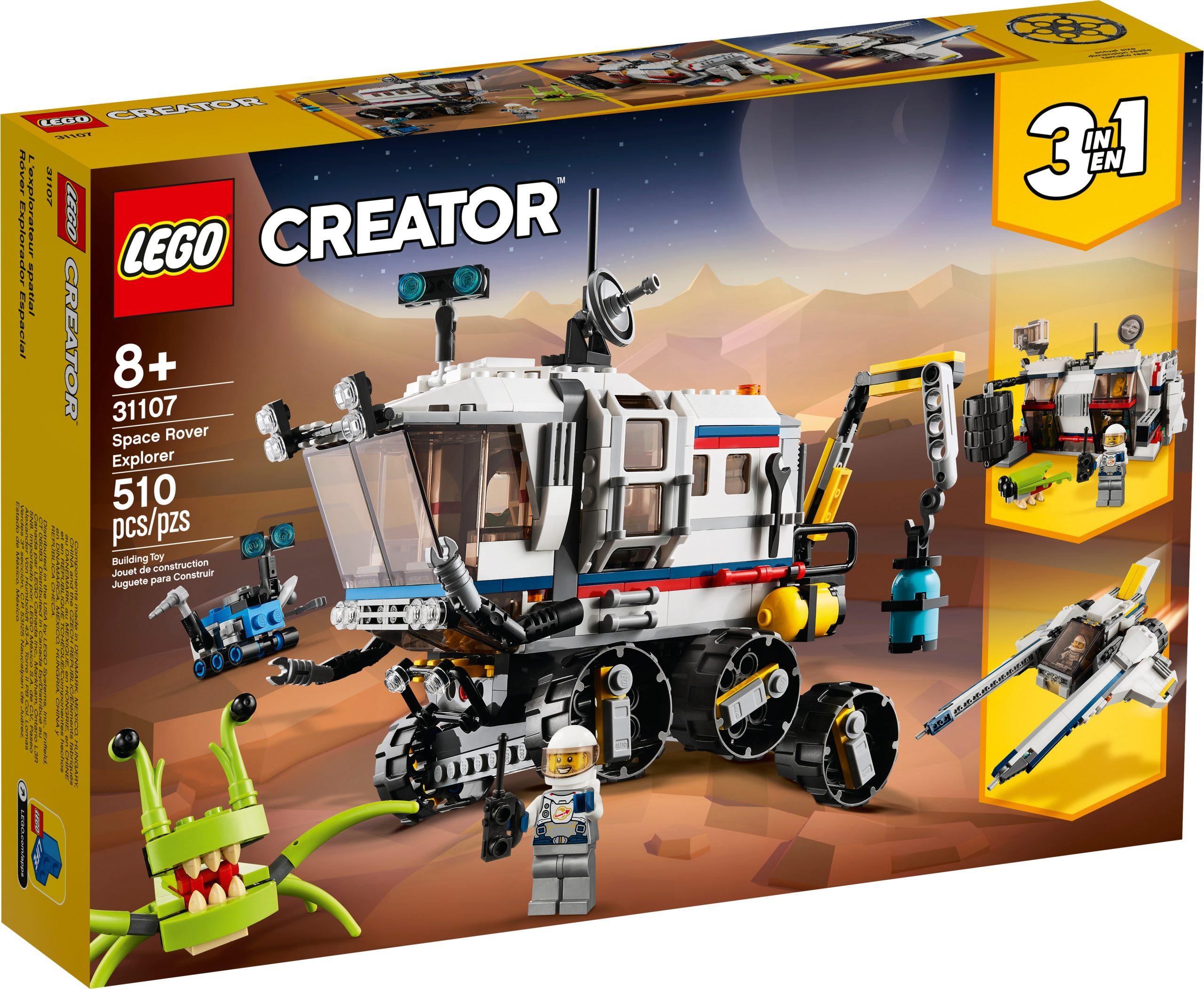 lego 31107 il rover di esplorazione spaziale scaled