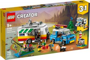 lego 31108 vacanze in roulotte