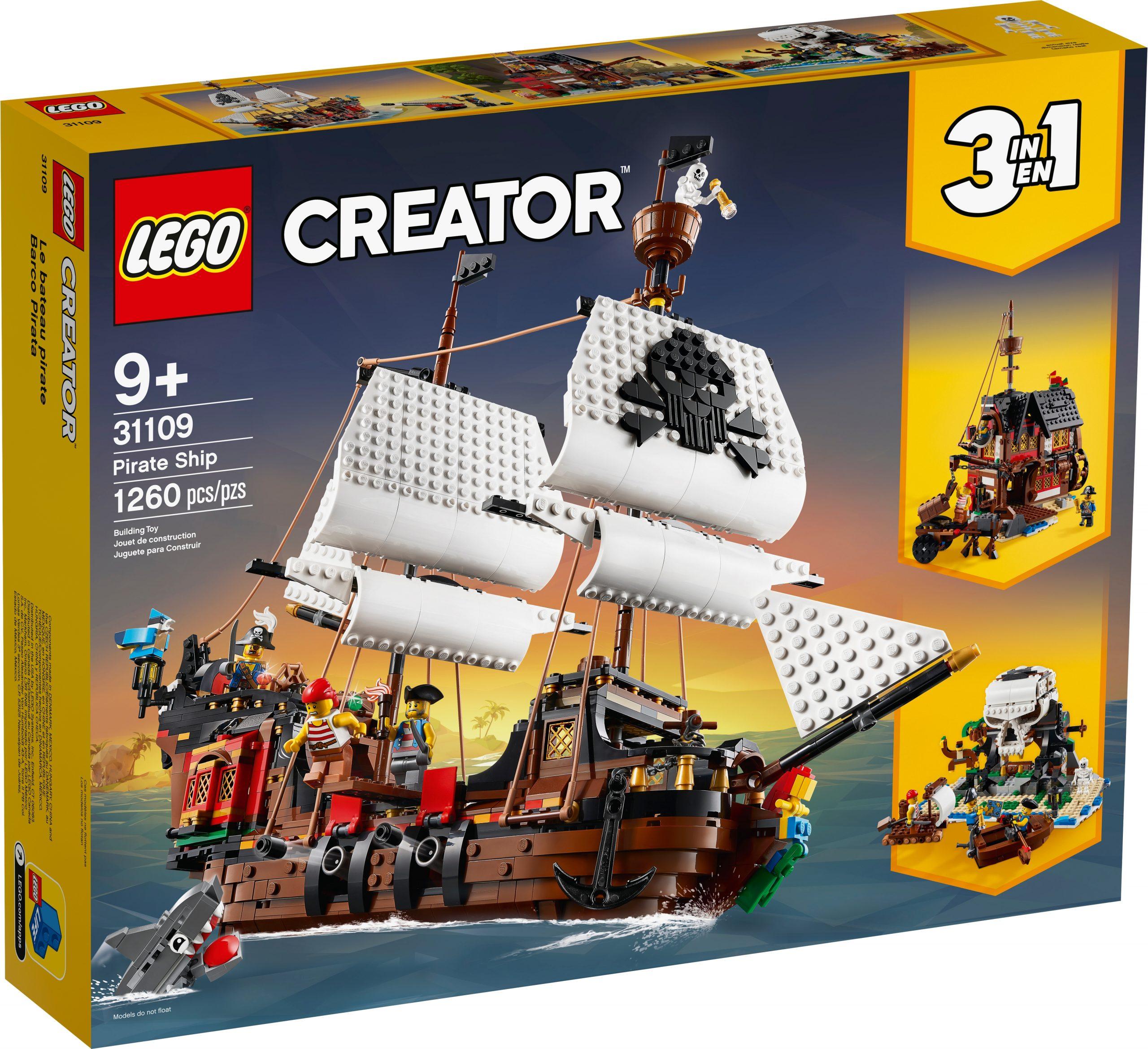lego 31109 galeone dei pirati scaled