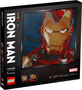lego 31199 iron man marvel studios