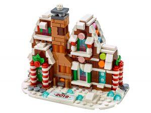 lego 40337 casa di pan di zenzero in miniatura