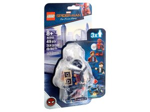 lego 40343 spider man e la rapina al museo