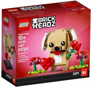 lego 40349 cucciolo di san valentino