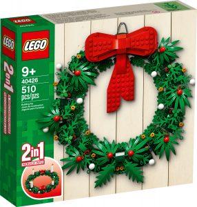 lego 40426 ghirlanda natalizia 2 in 1