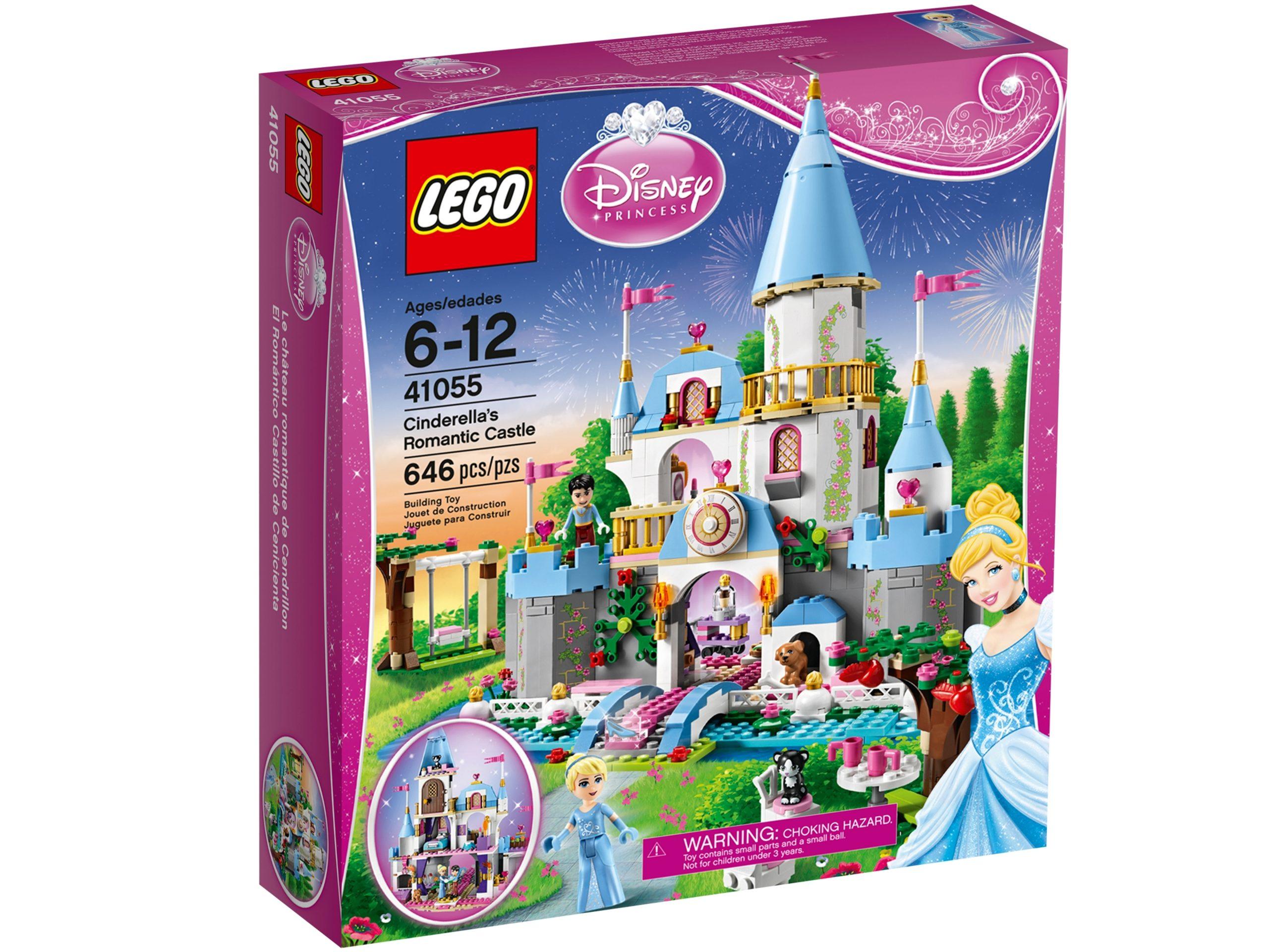 lego 41055 il castello romantico di cenerentola scaled