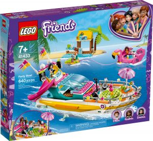lego 41433 party sullo yacht