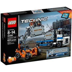 lego 42062 trasporta container