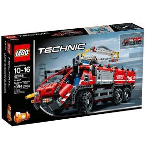 lego 42068 veicolo di soccorso aeroportuale