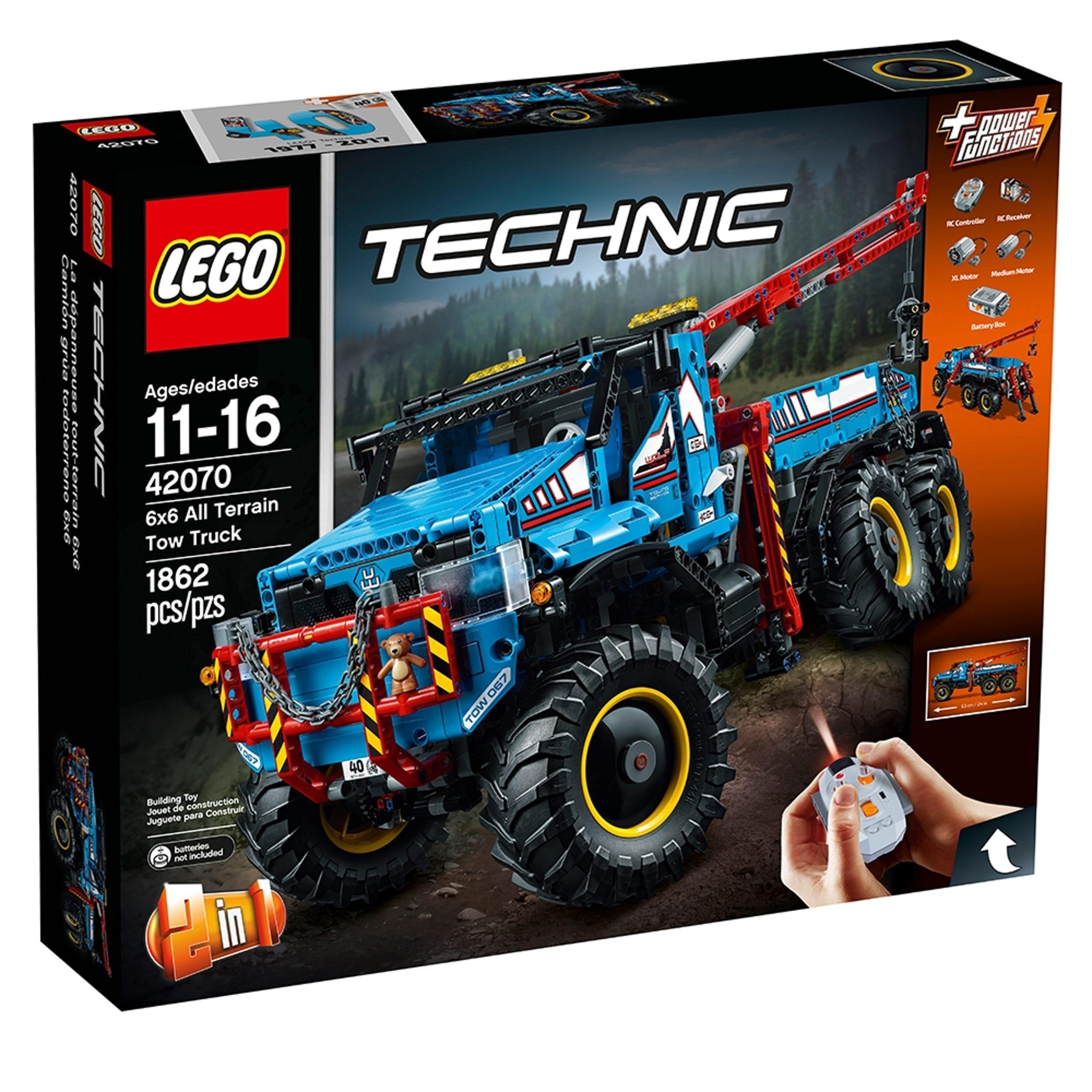 lego 42070 camion autogru 6x6 scaled
