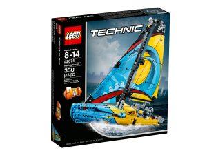 lego 42074 yacht da gara