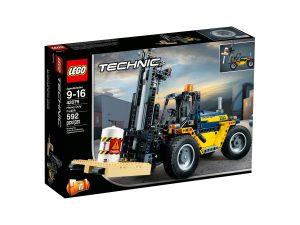 lego 42079 carrello elevatore heavy duty