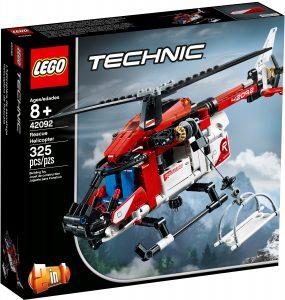 lego 42092 elicottero di salvataggio
