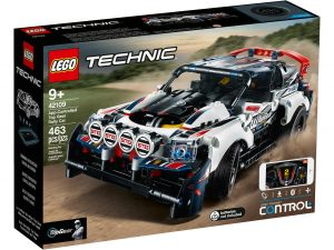 lego 42109 auto da rally top gear telecomandata
