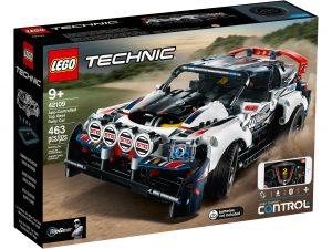 lego 42109 auto da rally top gear telecomandata