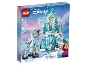lego 43172 il magico castello di ghiaccio di elsa