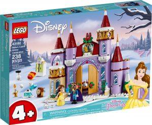 lego 43180 la festa dinverno al castello di belle