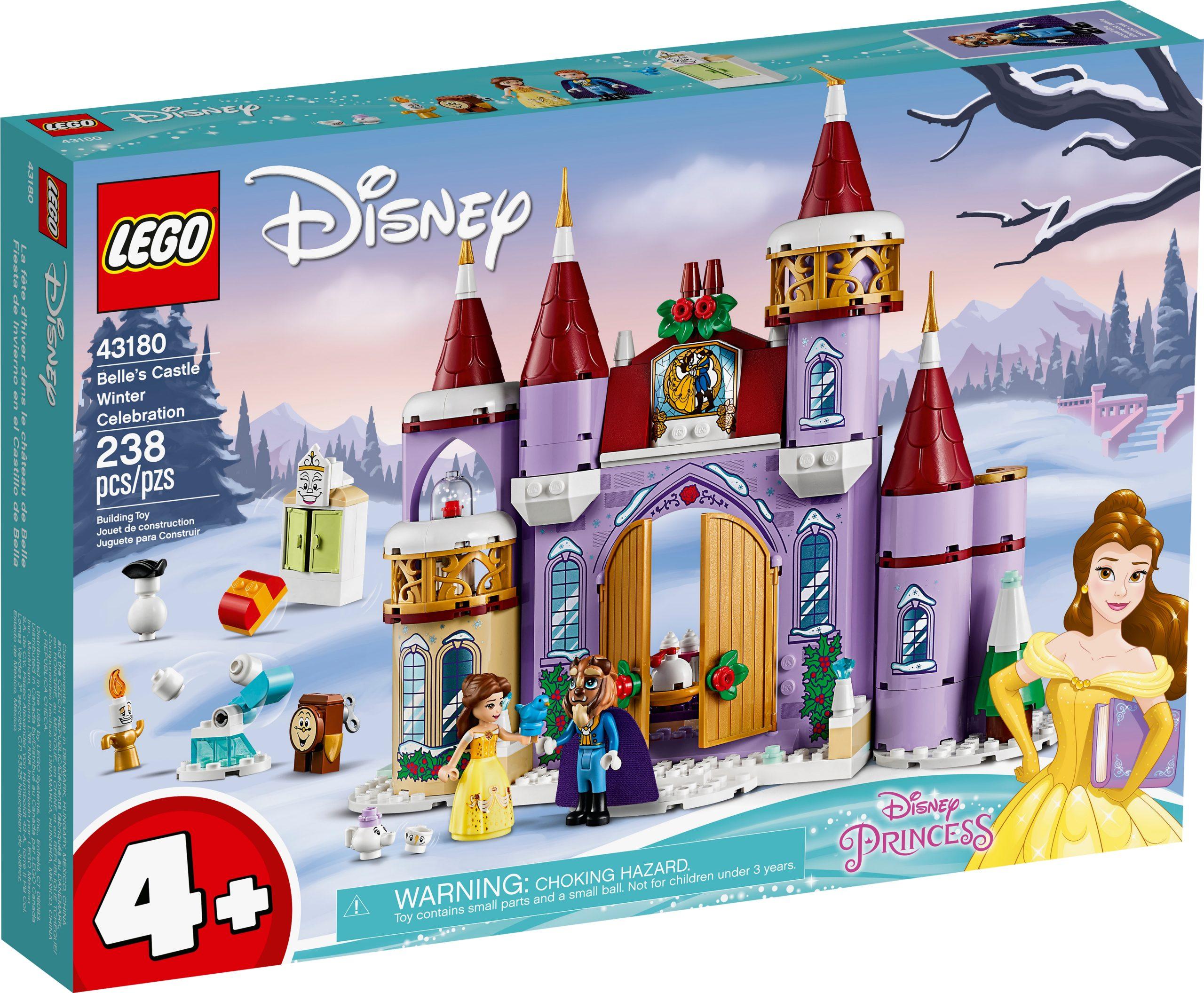 lego 43180 la festa dinverno al castello di belle scaled