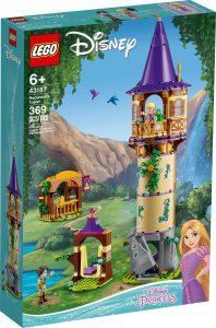 lego 43187 la torre di rapunzel