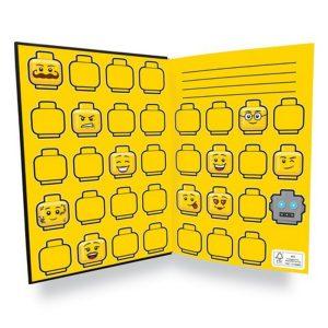 lego 5005900 quaderno con minifigure