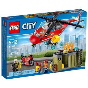 lego 60108 unita di risposta antincendio