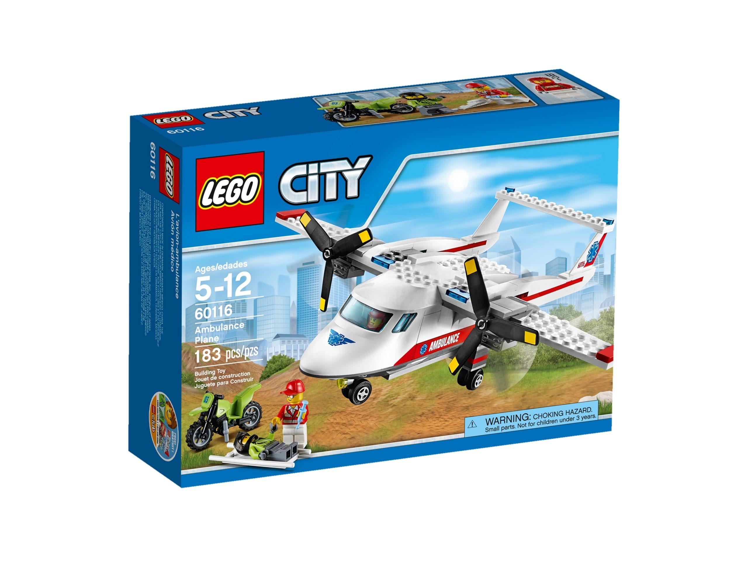 lego 60116 aereo ambulanza scaled