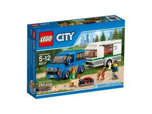 lego 60117 furgone e caravan