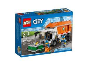 lego 60118 camioncino della spazzatura