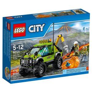 lego 60121 camion delle esplorazioni vulcanico