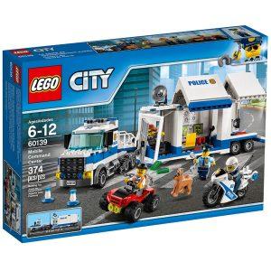 lego 60139 centro di comando mobile