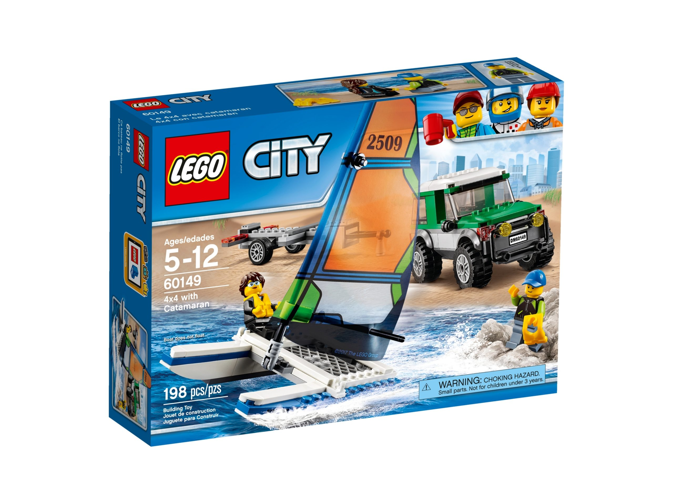 lego 60149 pick up 4x4 con catamarano scaled