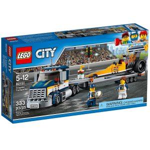 lego 60151 trasportatore di dragster