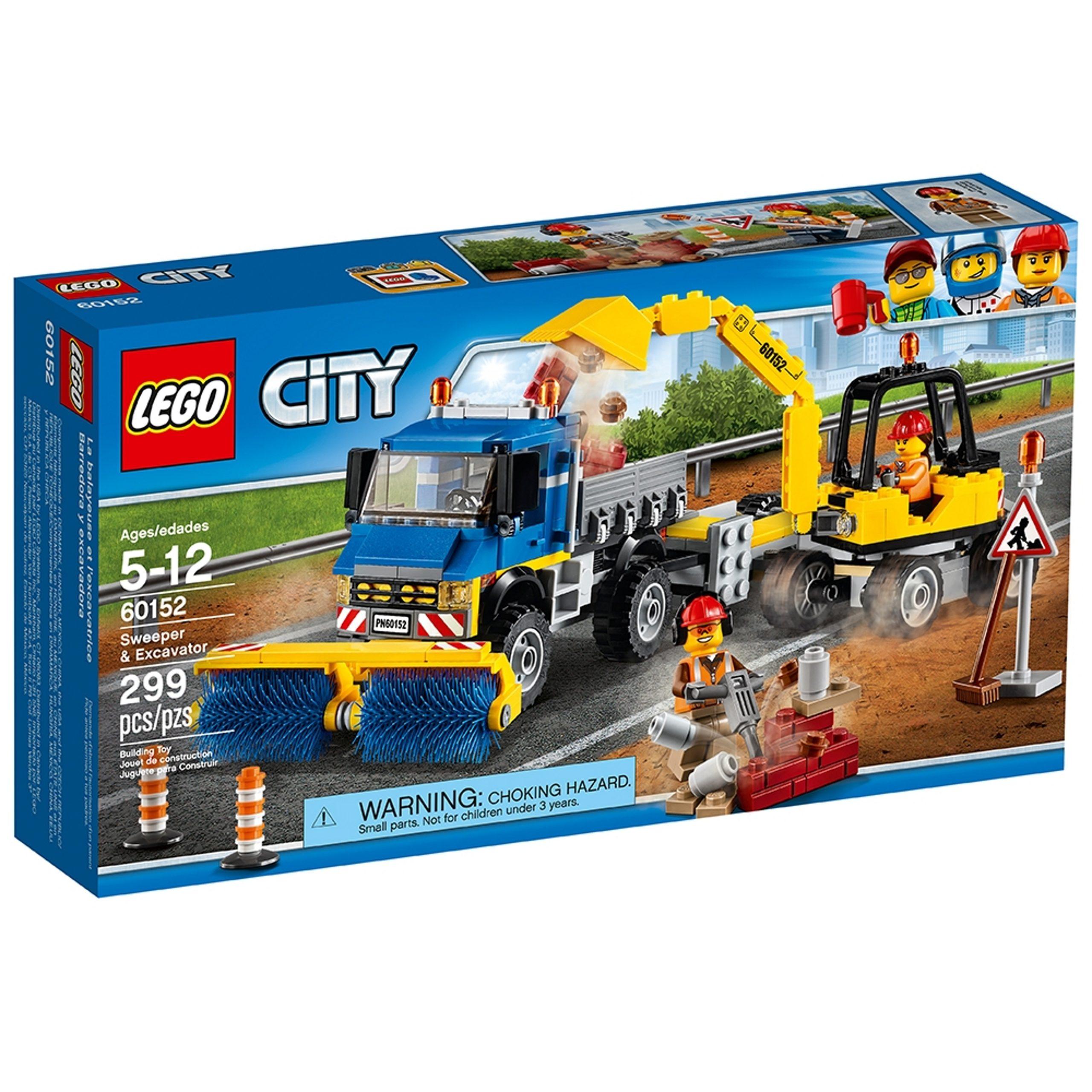lego 60152 spazzatrice ed escavatore scaled