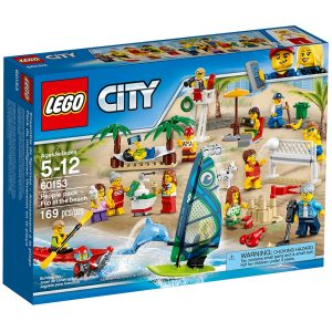 lego 60153 people pack divertimento in spiaggia