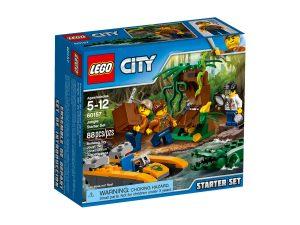 lego 60157 starter set della giungla