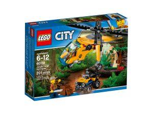 lego 60158 elicottero da carico della giungla