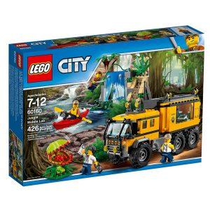 lego 60160 laboratorio mobile nella giungla