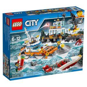 lego 60167 quartier generale della guardia costiera