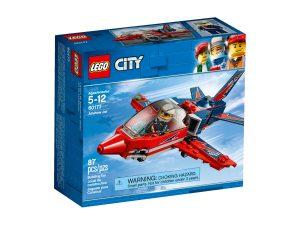 lego 60177 jet acrobatico