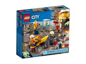 lego 60184 team della miniera