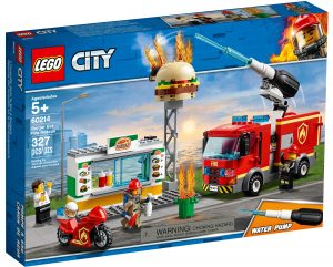 lego 60214 fiamme al burger bar