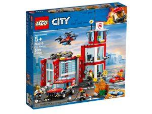 lego 60215 caserma dei pompieri