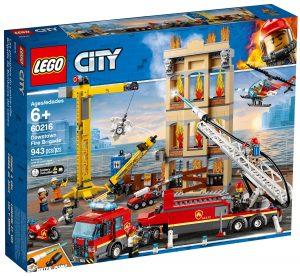 lego 60216 missione antincendio in citta