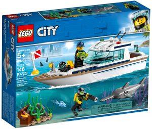 lego 60221 yacht per immersioni