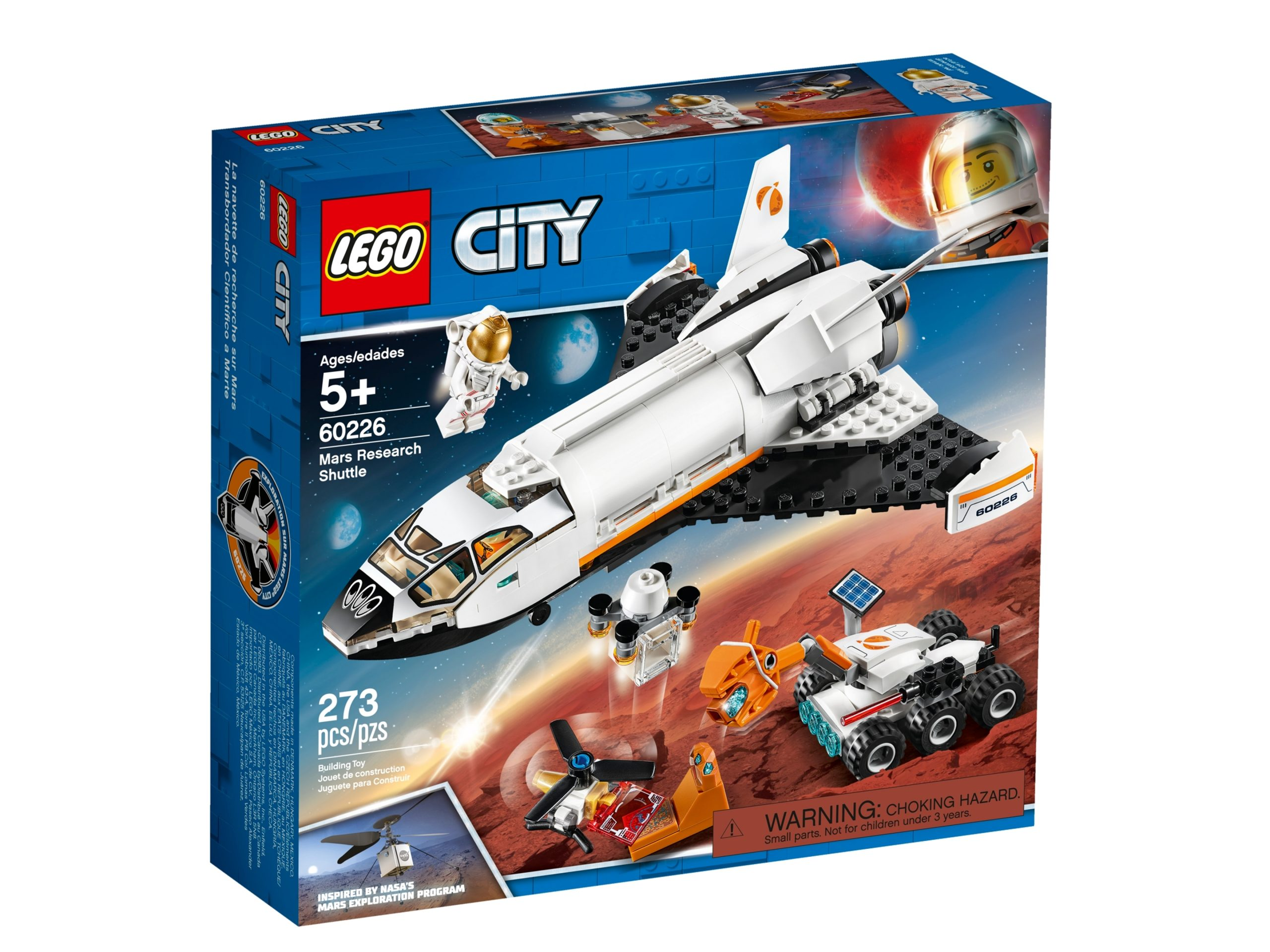lego 60226 shuttle di ricerca su marte scaled