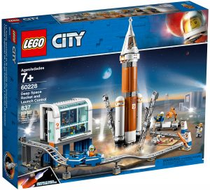 lego 60228 razzo spaziale e centro di controllo