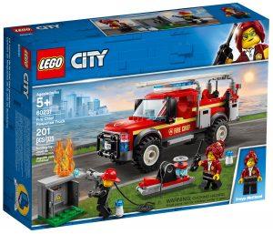 lego 60231 fuoristrada dei vigili del fuoco