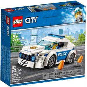 lego 60239 auto di pattuglia della polizia