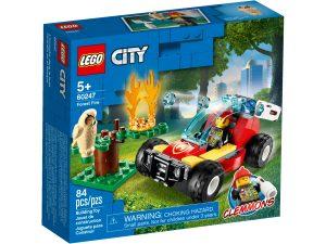lego 60247 incendio nella foresta