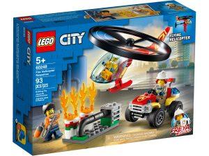 lego 60248 elicottero dei pompieri