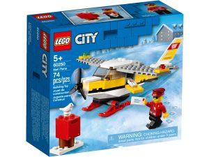 lego 60250 aereo postale